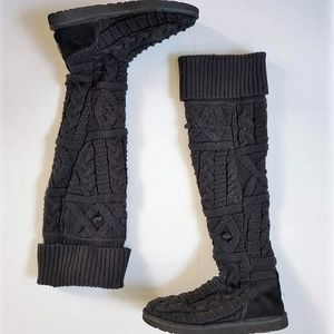 UGG 3174 Over the Knee Twisted Cable Boots 9